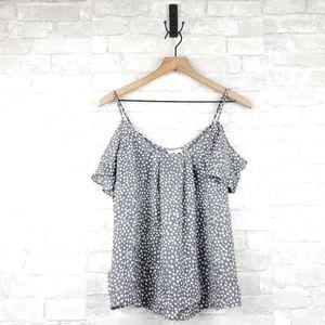 3/$25 Joie silk heart print blouse   Size L